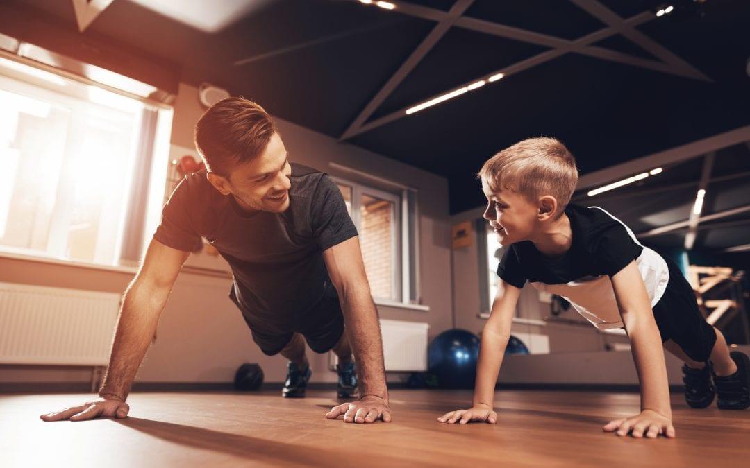 Five Ways To Help Your Kids Get In Shape